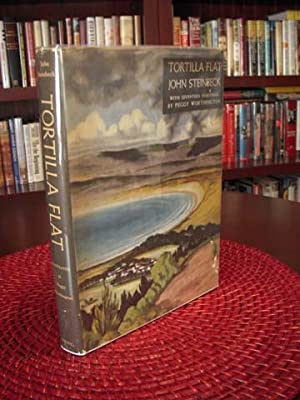 Tortilla Flat, Viking 1947 Illustrated Edition: Steinbeck, John; Peggy Worthington, illustrator