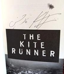 The Kite Runner, Signed by Author: Hosseini, Khaled