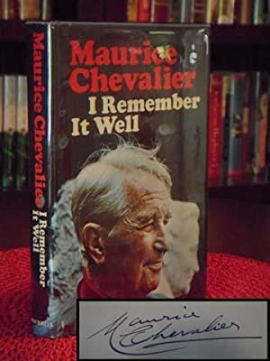 I Remember It Well: Chevalier, Maurice