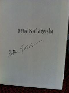 Memoirs of a Geisha (Signed First Printing,: Golden, Arthur