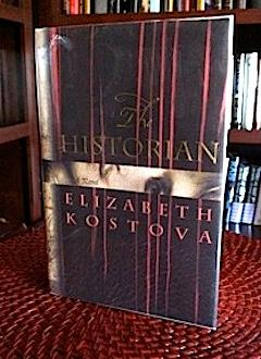 The Historian signed first printing, with author event CD: Kostova, Elizabeth