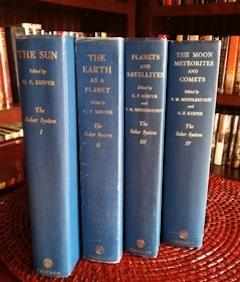 The Solar System Complete Set 4 Volumes: Kuiper, G.P. and