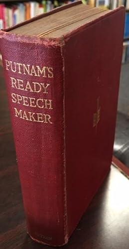 Putnam's Ready Speech Maker: What to say: Edwin Hamlin Carr