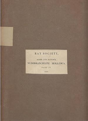 Monograph of British Nudibranchiate Mollusca Part IV: Alder, Joshua and Albany Hancock