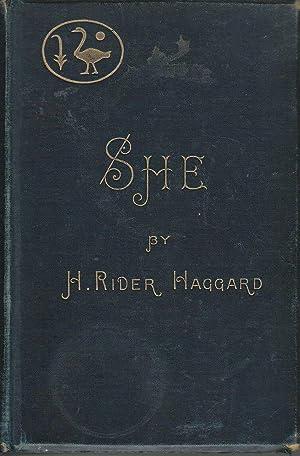 She A History of Adventure: Haggard, H. Rider