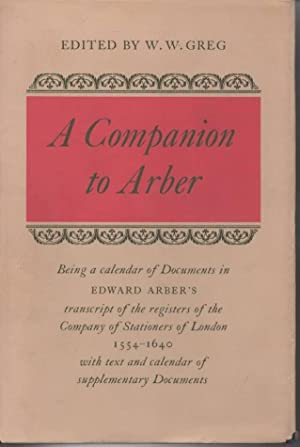 A Companion to Arber: Greg, W W