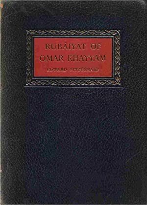 Rubáiyát of Omar Khayyám: Fitzgerald, Edward; Maine, George F. , edited by