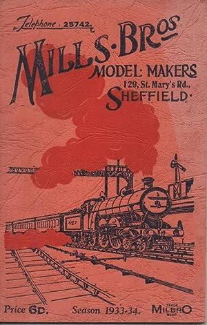 Model Makers Catalogue 1933 - 34: Mills Bros