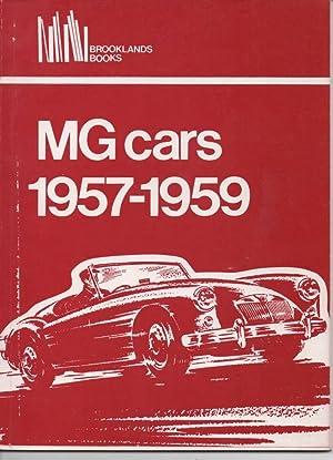 MG Cars 1957 - 1959: Clarke, R M