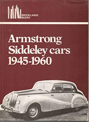 Armstrong Siddeley Cars 1945 - 1960: Clarke, R M