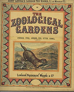 The Zoological Gardens Hyaenas, Stag, Jaguar, Fox, Otte, Caaunt Louisa's London Toy Booksmel