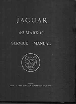 Jaguar 4.2 Mark 10 Seervice Manual