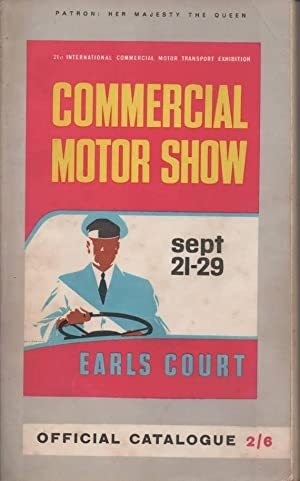 Commercial Motor Show Sept 21-29 Earls Court