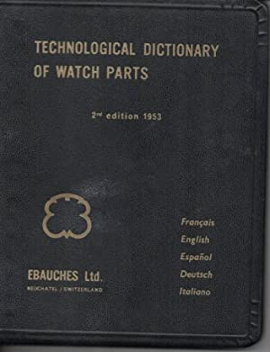 Technological Dictionary of Watch Parts