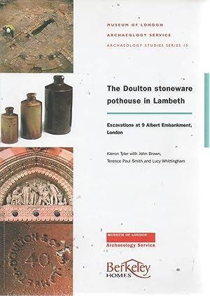 The Doulton Stoneware Pothouse in Lambeth Excavations: Tyler, Kieron