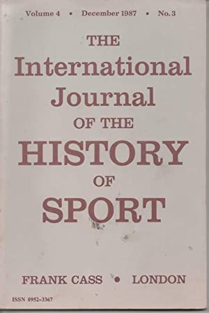International Journal of the History of Sport: Mangan, J. A.