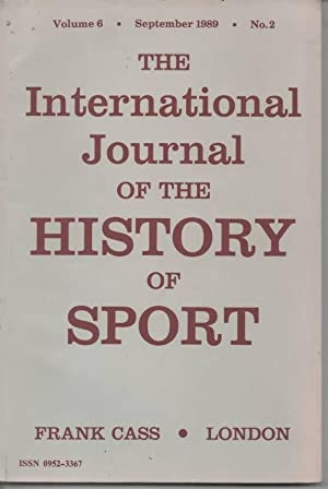 The International Journal of the History of: Mangan, J. A.