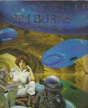 Lightship Jim Burns, Master of SF Illustration: Evans, Chris; Burns,
