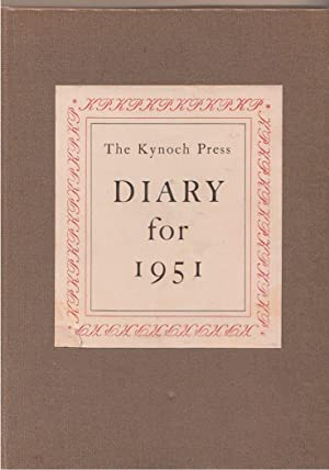 The Kynoch Press Diary and Notebook