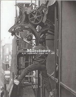 Milestones Black Church Print Studio 1982-2007: Horgan, Sara &