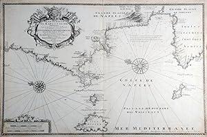 Plan du Golfe de Naples et des: MICHELOT, HENRY &