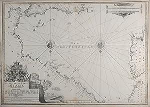 Suitte de la Carte d'Italie depuis Mont: MICHELOT, HENRY &