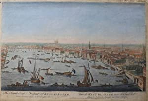 The South East Prospect of Westminster from Somerset house to Westminster Bridge / Veue de Westmi...