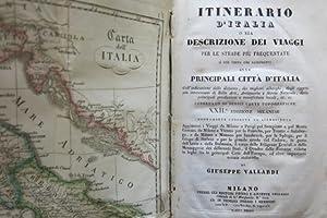 Itinerario d'Italia o sia descrizione dei viaggi: VALLARDI, GIUSEPPE.