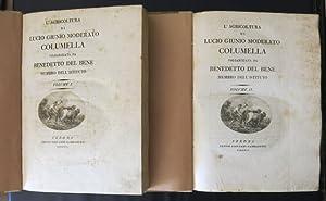 L'agricoltura di Lucio Giunio Moderato Columella. Volgarizzata: COLUMELLA, LUCIO GIUNIO