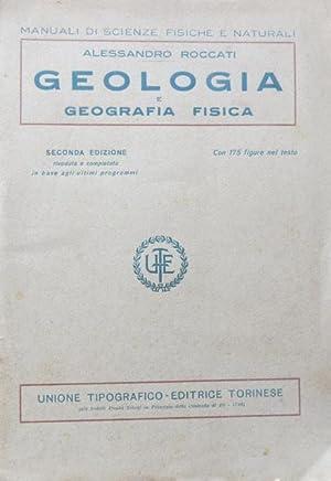 Geologia e geografia fisica.: ROCCATI, ALESSANDRO.