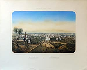 Alexandrie. Vue générale prise du fort Cafarelli: LEBRETON, L. –