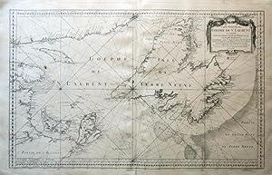 Carte réduite du Golphe de S.t Laurent.: BELLIN, JACQUES NICOLAS