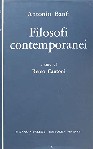 Filosofi contemporanei.