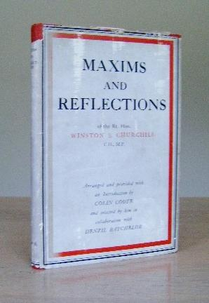 Maxims_and_Reflections__SIGNED_Churchill_Winston_S_Assez_bon_Couverture_rigide