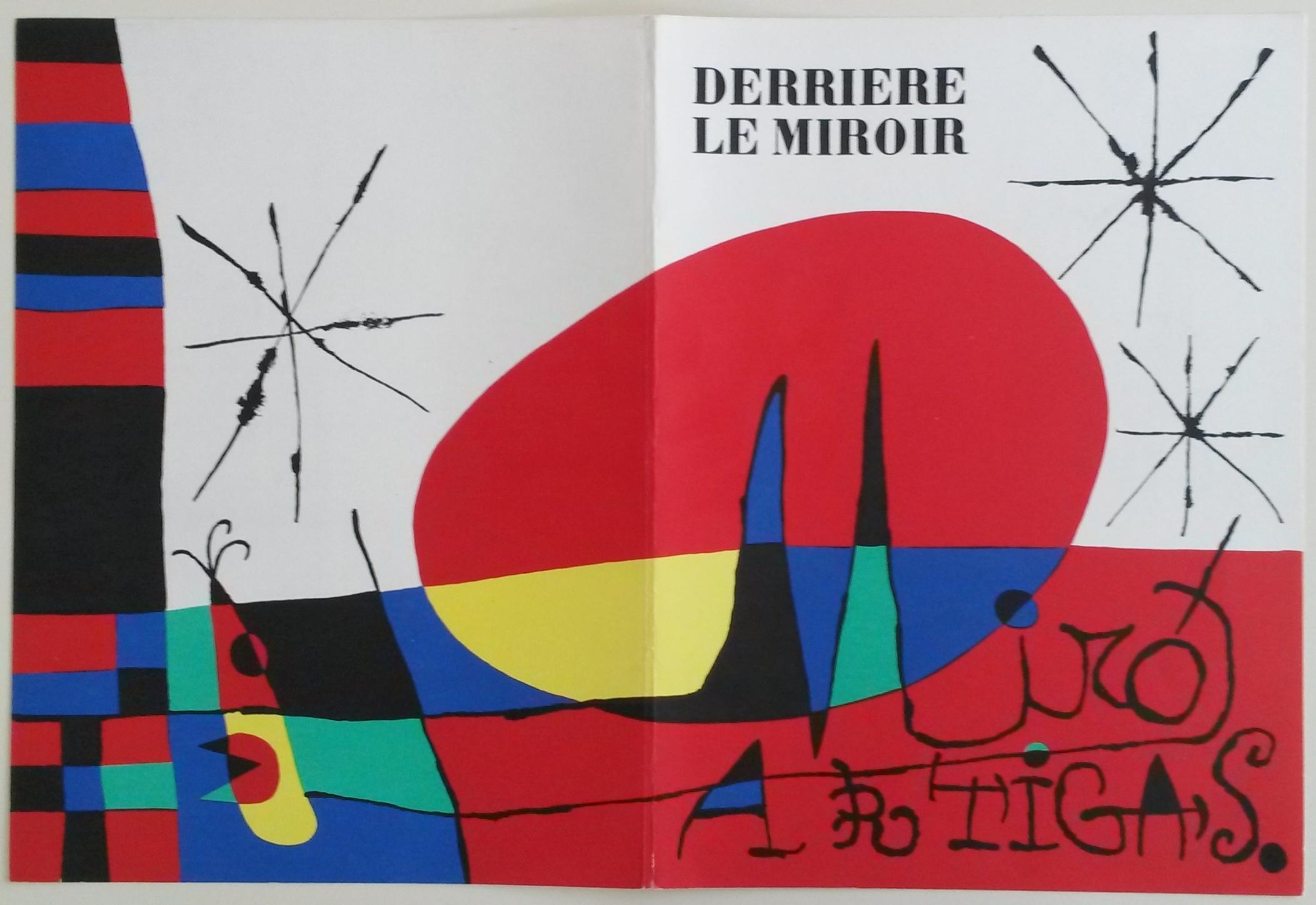 Derriere le miroir 87 88 89 by miro joan joseph for Derriere le miroir miro
