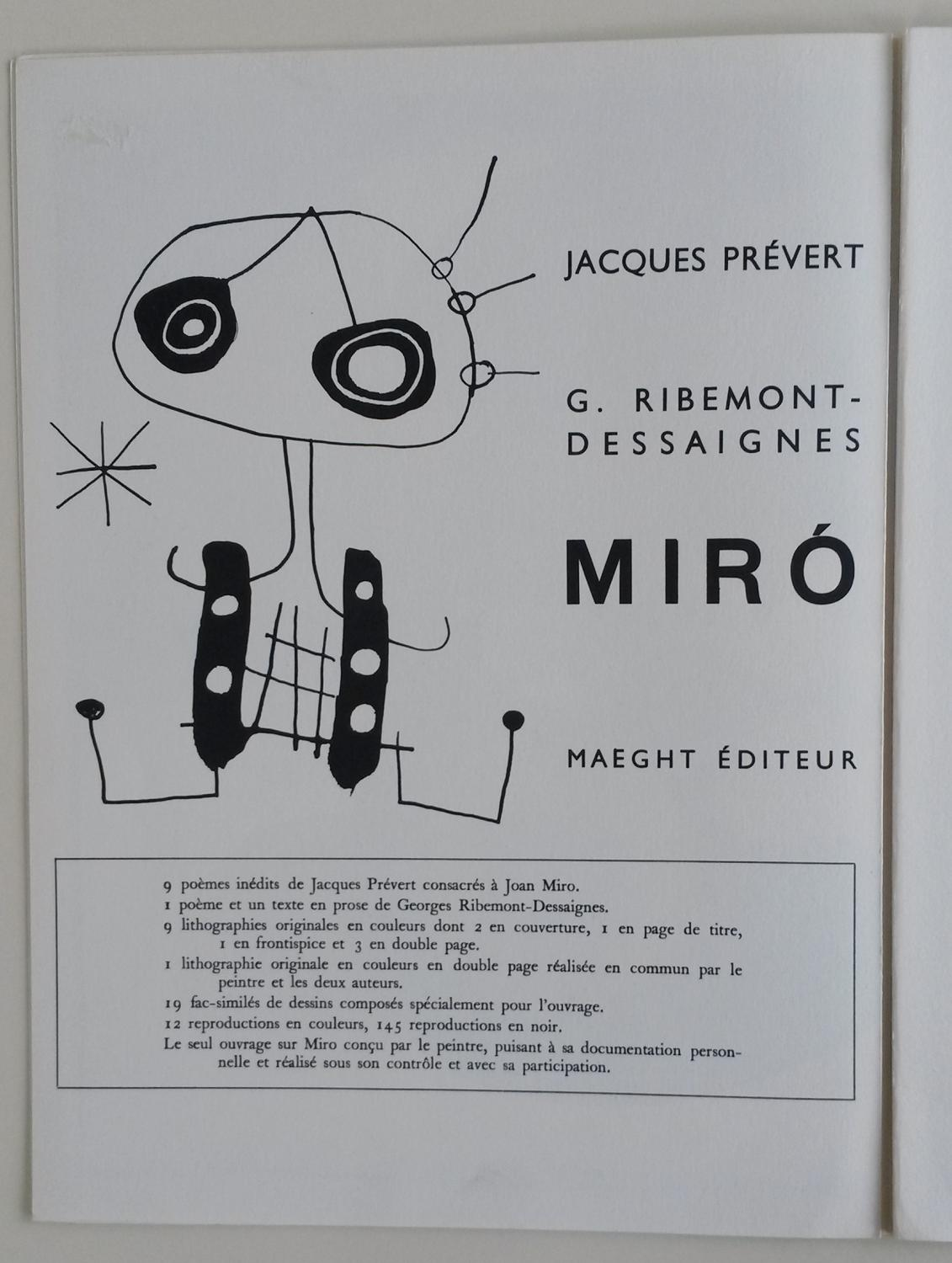 Derriere le miroir 87 88 89 by miro joan joseph for Derriere le miroir