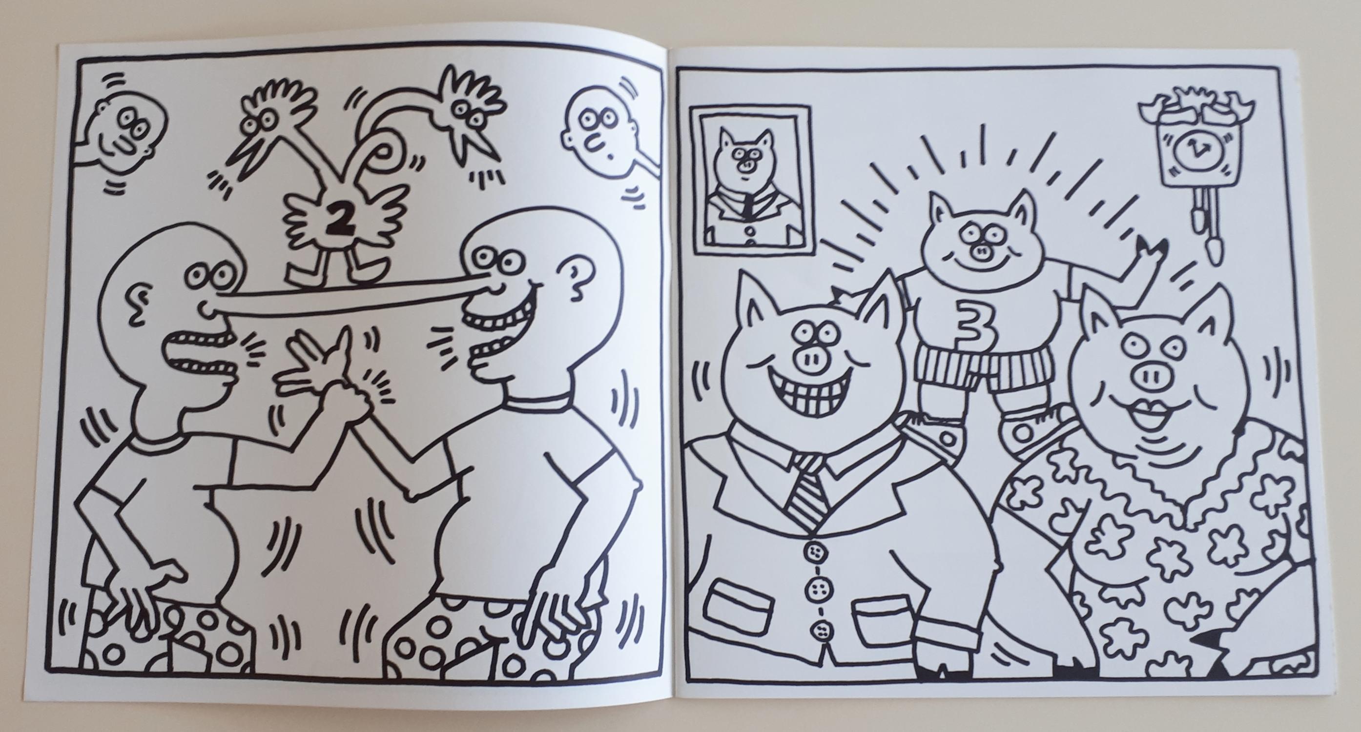 K. Haring - Coloring Book