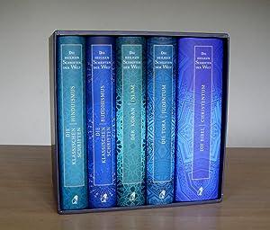 Die Heiligen Schriften der Welt. Die Bibel - Christentum, Die Tora - Judentum, Der Koran - Islam, ...