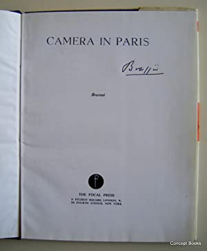 Camera in Paris (Signed): Brassai