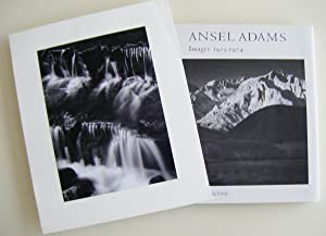Images 1923-1974 (Signed, with signed silver print): Adams, Ansel