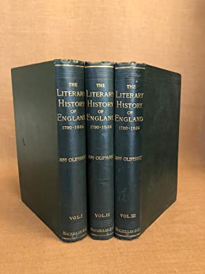 The Literary History of England (3 vols)