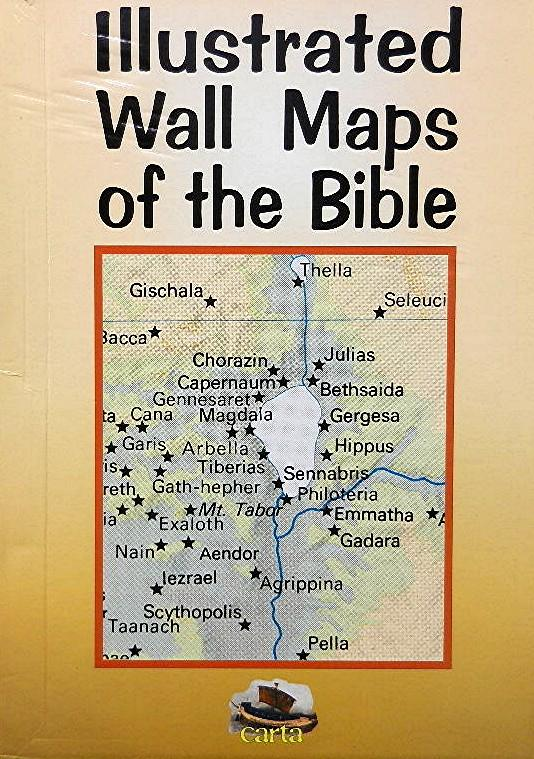 Illustrated Wall Maps of the Bible on bible posters, bible atlas, bible world map, bible paper, bible book, bible road map, bible treasure chest, bible stickers,