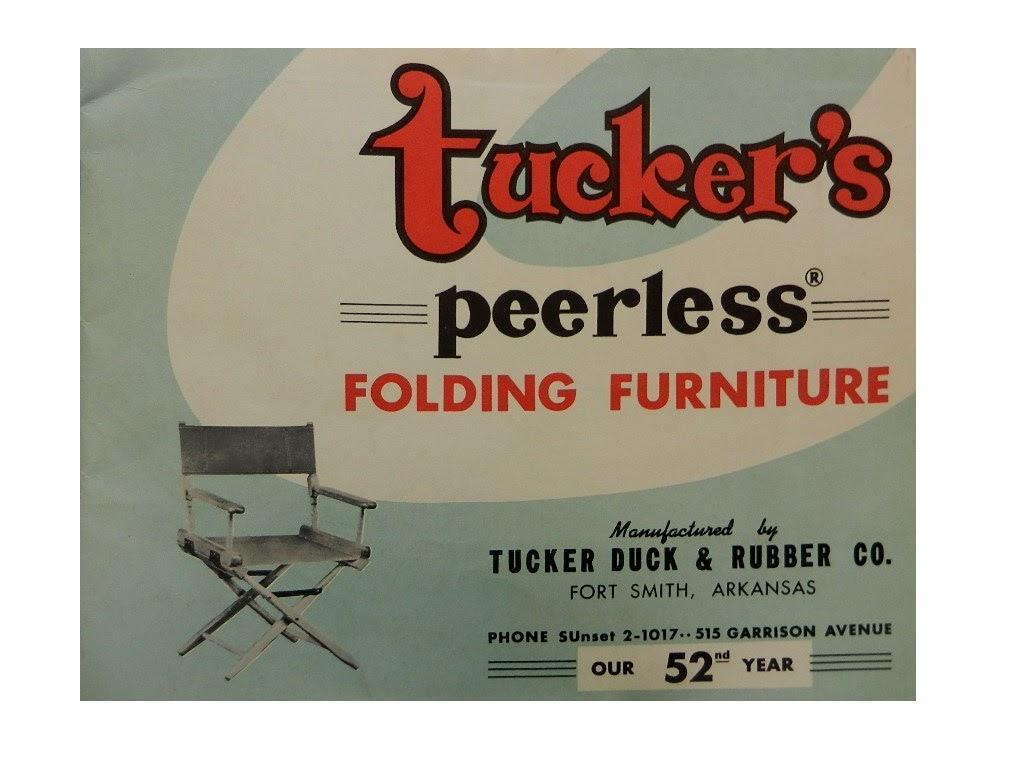 Tuckeru0027s Peerless Folding Furniture 1907 1958