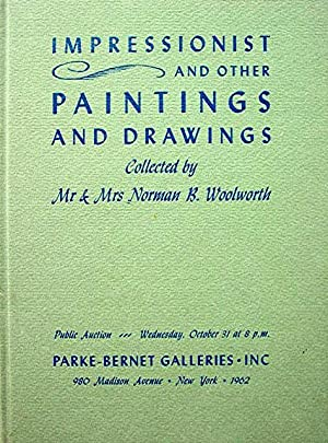 Impressionist and Other Paintings and Drawings
