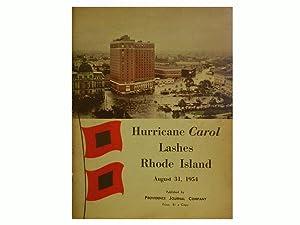 Hurricane Carol Lashes Rhode Island August 31
