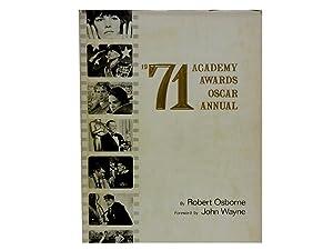 1971 Academy Awards Oscar Annual: Osborne Robert and John Wayne (foreword)
