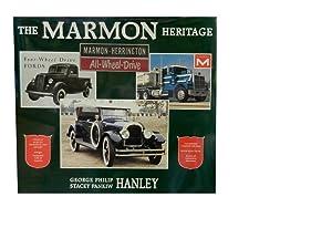 The Marmon Heritage: Marmon Marmon-Herrington Marmon-Herrington All-Wheel-Drive: Hanley George Philip