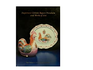 Important Chinese Export Porcelain and Works of: Kaelin Margaret