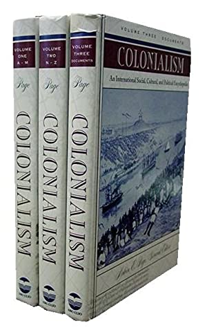 Colonialism; 3 volumes: Page, Melvin E