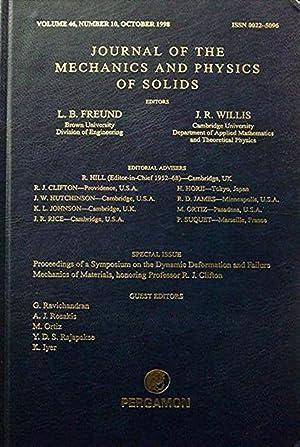 Journal of the Mechanics and Physics of: Freund L B